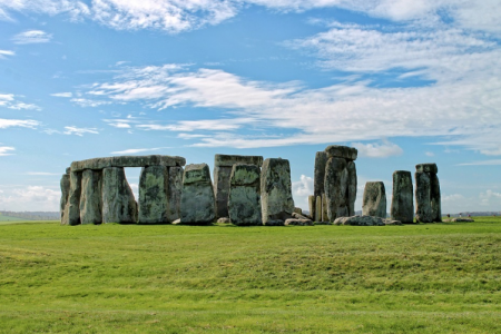 Les pedres blaves de Stonehenge daten de l'any 3000 a.C